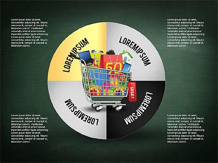 Shopping and Sale Infographics Toolbox, Slide 10, 02855, Infographics — PoweredTemplate.com