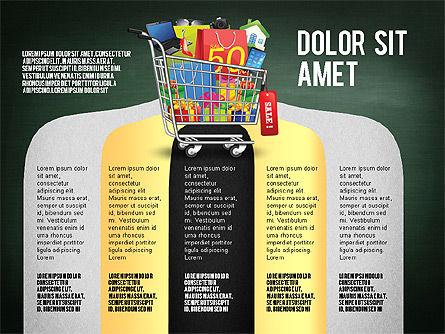 Shopping and Sale Infographics Toolbox, Slide 14, 02855, Infographics — PoweredTemplate.com