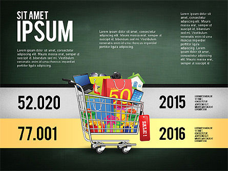 Shopping and Sale Infographics Toolbox, Slide 15, 02855, Infographics — PoweredTemplate.com