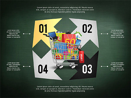 Shopping and Sale Infographics Toolbox, Slide 16, 02855, Infographics — PoweredTemplate.com