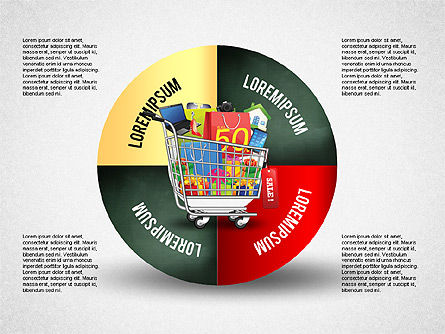 Shopping and Sale Infographics Toolbox Slide 2