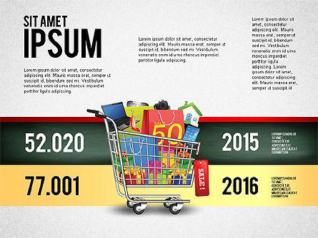 Shopping and Sale Infographics Toolbox, Slide 7, 02855, Infographics — PoweredTemplate.com