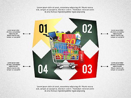 Shopping and Sale Infographics Toolbox, Slide 8, 02855, Infographics — PoweredTemplate.com