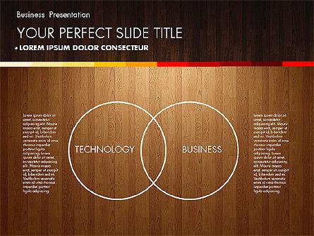 Business Presentation on Chalk Board, Slide 12, 02857, Presentation Templates — PoweredTemplate.com
