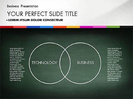 Business Presentation on Chalk Board, Slide 4, 02857, Presentation Templates — PoweredTemplate.com