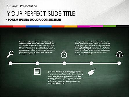 Business Presentation on Chalk Board, Slide 7, 02857, Presentation Templates — PoweredTemplate.com