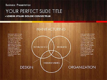 Business Presentation on Chalk Board, Slide 9, 02857, Presentation Templates — PoweredTemplate.com