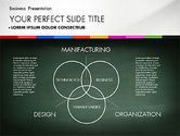 Presentation Templates: Business Presentation on Chalk Board #02857