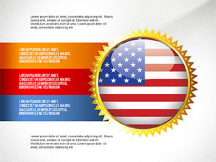 USA Quality Infographic Concept, Slide 2, 02858, Infographics — PoweredTemplate.com