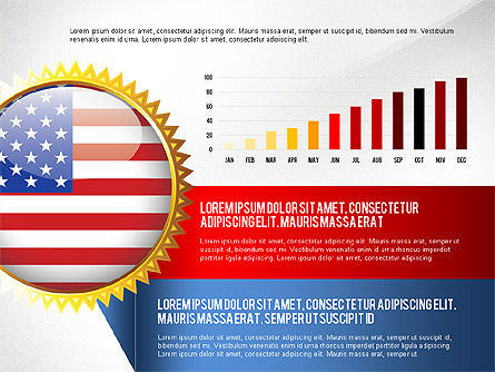 USA Quality Infographic Concept, Slide 3, 02858, Infographics — PoweredTemplate.com