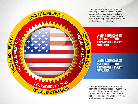 USA Quality Infographic Concept, Slide 4, 02858, Infographics — PoweredTemplate.com