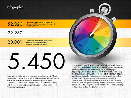 Productivity and Benchmark Infographics , Slide 10, 02859, Infographics — PoweredTemplate.com