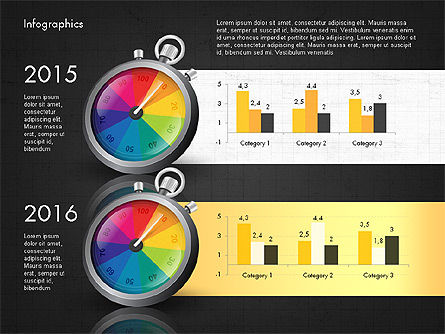 Productivity and Benchmark Infographics , Slide 11, 02859, Infographics — PoweredTemplate.com