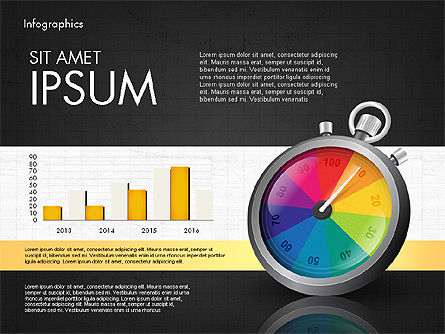 Productivity and Benchmark Infographics , Slide 14, 02859, Infographics — PoweredTemplate.com
