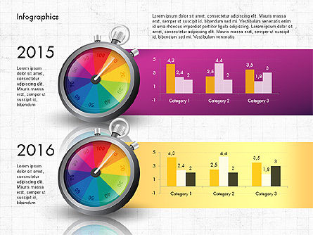 Productivity and Benchmark Infographics  Slide 3