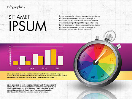 Productivity and Benchmark Infographics , Slide 6, 02859, Infographics — PoweredTemplate.com