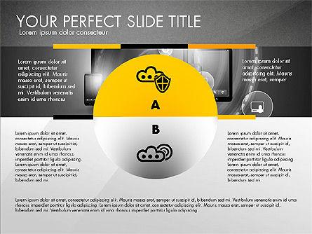 Cloud Services Infographics, Slide 11, 02862, Presentation Templates — PoweredTemplate.com