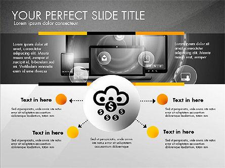 Cloud Services Infographics, Slide 12, 02862, Presentation Templates — PoweredTemplate.com