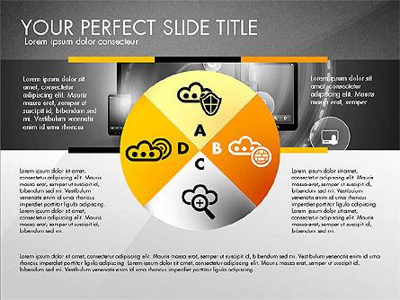Cloud Services Infographics, Slide 13, 02862, Presentation Templates — PoweredTemplate.com