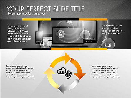 Cloud Services Infographics, Slide 15, 02862, Presentation Templates — PoweredTemplate.com