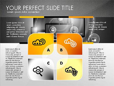 Cloud Services Infographics, Slide 16, 02862, Presentation Templates — PoweredTemplate.com