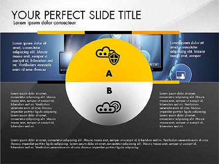 Cloud Services Infographics, Slide 3, 02862, Presentation Templates — PoweredTemplate.com