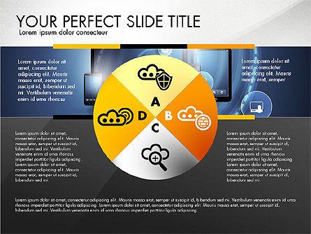 Cloud Services Infographics, Slide 5, 02862, Presentation Templates — PoweredTemplate.com