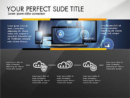 Cloud Services Infographics, Slide 6, 02862, Presentation Templates — PoweredTemplate.com