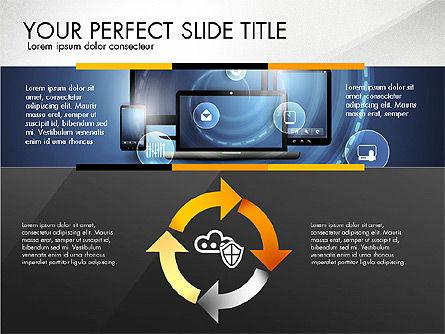 Cloud Services Infographics, Slide 7, 02862, Presentation Templates — PoweredTemplate.com