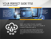 Presentation Templates: Cloud Services Infographics #02862