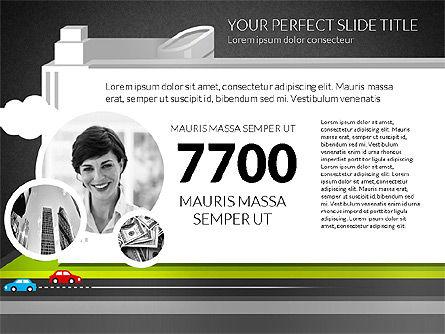Business Center Presentation, Slide 10, 02863, Presentation Templates — PoweredTemplate.com