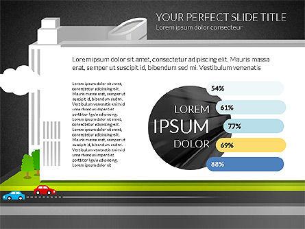Business Center Presentation, Slide 11, 02863, Presentation Templates — PoweredTemplate.com