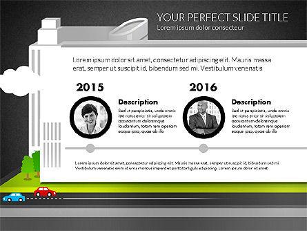 Business Center Presentation, Slide 13, 02863, Presentation Templates — PoweredTemplate.com
