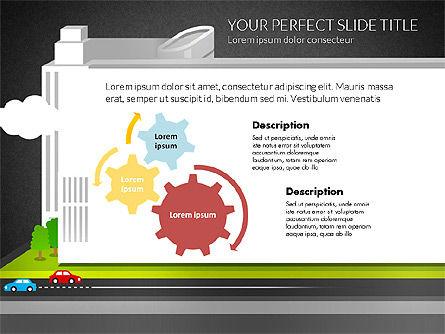 Business Center Presentation, Slide 15, 02863, Presentation Templates — PoweredTemplate.com
