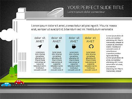 Business Center Presentation, Slide 16, 02863, Presentation Templates — PoweredTemplate.com