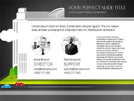 Business Center Presentation, Slide 9, 02863, Presentation Templates — PoweredTemplate.com