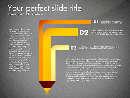 Timeline Options Concept, Slide 10, 02866, Stage Diagrams — PoweredTemplate.com