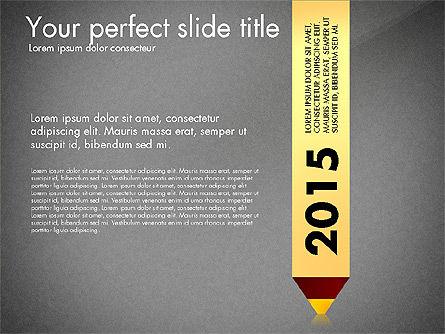 Timeline Options Concept, Slide 11, 02866, Stage Diagrams — PoweredTemplate.com