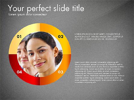 Timeline Options Concept, Slide 12, 02866, Stage Diagrams — PoweredTemplate.com