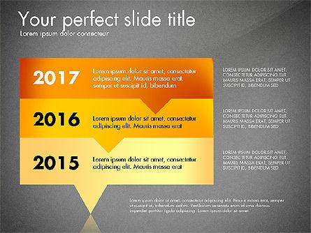 Timeline Options Concept, Slide 14, 02866, Stage Diagrams — PoweredTemplate.com