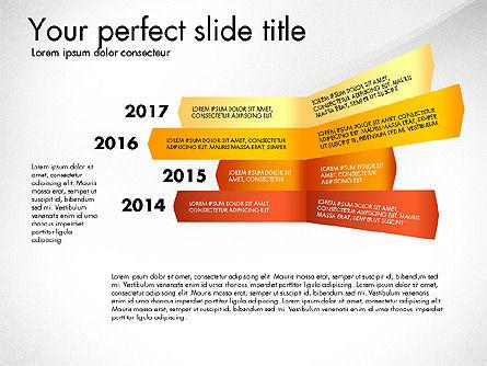 Timeline Options Concept, Slide 5, 02866, Stage Diagrams — PoweredTemplate.com