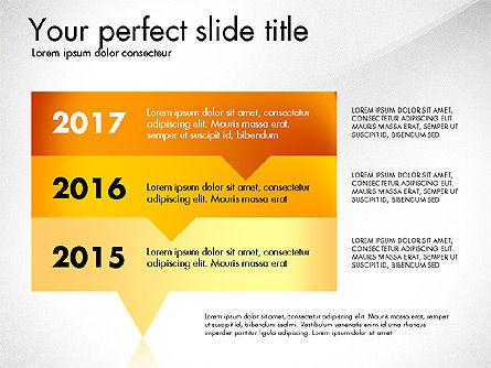 Timeline Options Concept, Slide 6, 02866, Stage Diagrams — PoweredTemplate.com