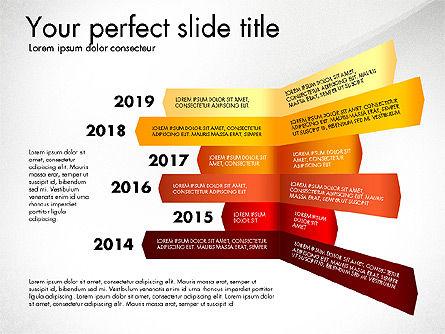 Timeline Options Concept, Slide 7, 02866, Stage Diagrams — PoweredTemplate.com