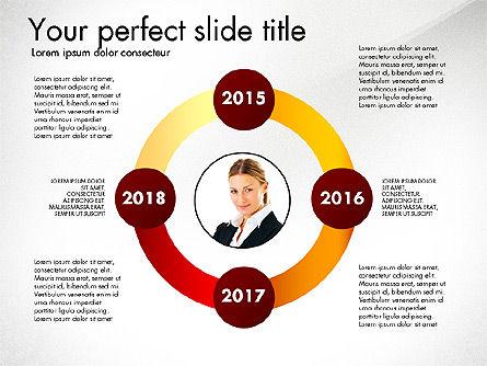 Timeline Options Concept, Slide 8, 02866, Stage Diagrams — PoweredTemplate.com