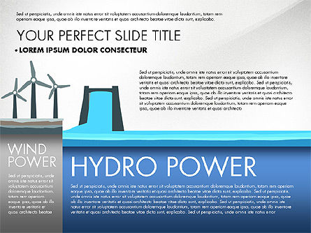 Alternate Power Sources Presentation Concept, Slide 2, 02867, Presentation Templates — PoweredTemplate.com