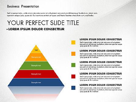 Business Presentation with Flat Designed Charts, Slide 6, 02868, Presentation Templates — PoweredTemplate.com