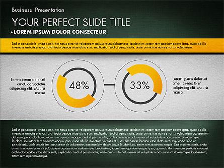 Strong Business Presentation, Slide 10, 02869, Presentation Templates — PoweredTemplate.com