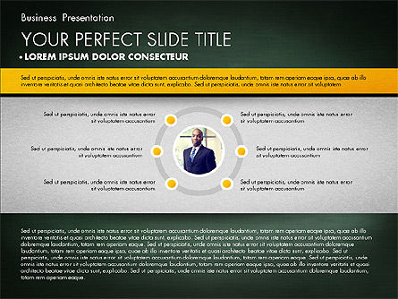 Strong Business Presentation, Slide 9, 02869, Presentation Templates — PoweredTemplate.com