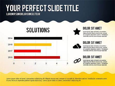 Vivid Data Driven Presentation Template, Slide 5, 02872, Data Driven Diagrams and Charts — PoweredTemplate.com