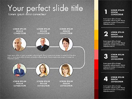 Team Presentation Template, Slide 10, 02873, Presentation Templates — PoweredTemplate.com